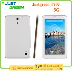 Cell Phone Tablet Support 2G/3G Dual SIM card dual standby 512MB 4 GB 7 inch Tablet PC T707 MTK6572