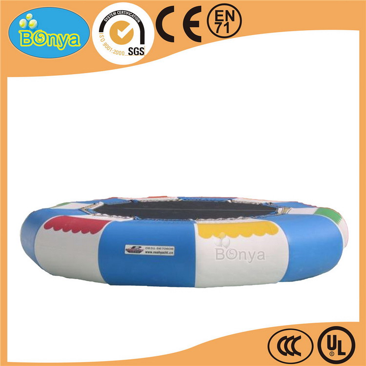 Cheaper trade assurance water trampoline inflatable banana boat