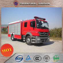 Logo Printed Water Tank Foam Fire Fighting Truck