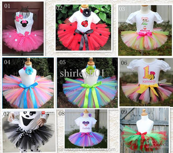 hello kity cute child handmade tutu skirts