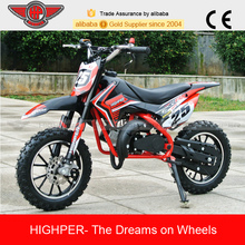 2017 gas powered mini 49cc 2 stroke motorbikes for small kids (DB709)