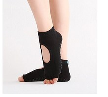 Custom High Quality Silicone Grip Women Yoga Sock