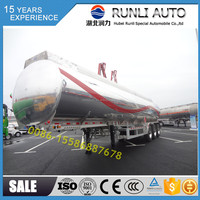 45000L Petroleum custom-built aluminum fuel tank semi trailer
