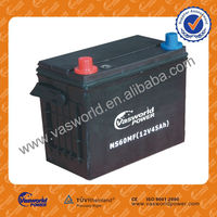 JIS 46b24rs MF 12V45AH atlas car battery