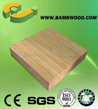EJ089 Unfinished Surface Multilayer Bamboo Acoustic Panels, Good Qulity Bamboo Panel