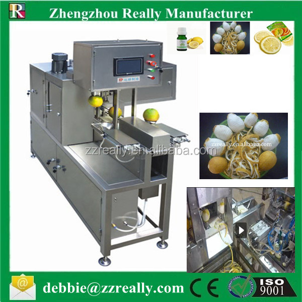 Multi-function automatic orange /lemon peeling machine/ lemon peeler for industrial using