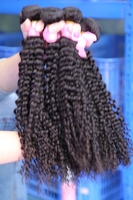 100% virgin human brazilian kinky curl hair, 8A grade