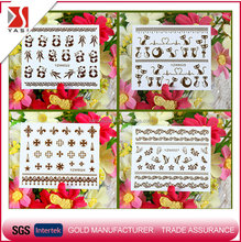 2017 new products custom design full cover water nail sticker set for sale