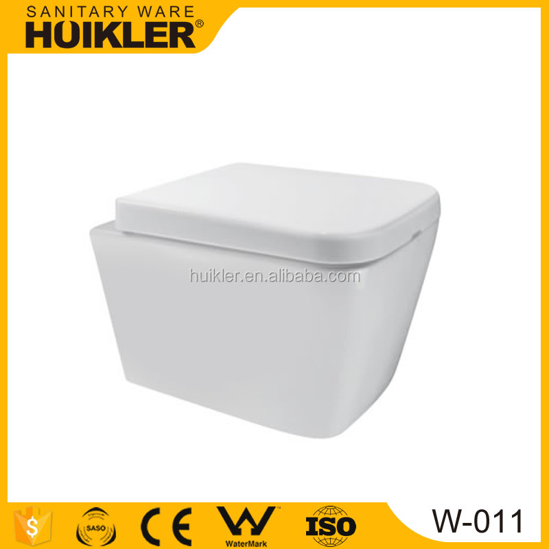 European style wall hanging wc toilet cheap wall hang toilet
