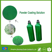Transparent Green Color Paint Powder