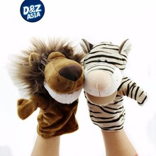 Animals cloth finger puppet hand puppet doll mouth dynamic early childhood doll