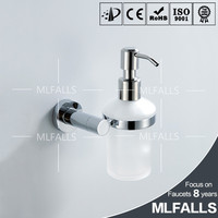 Wall mount contemporary style bathroom chrome brass accessories china factory wholesale