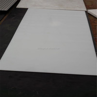 white color low price plastic board use for roller skating rink flooring