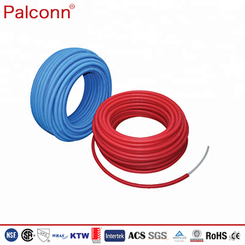 China Palconn 3/8-2inch 8-63mm EVOH PEX Pipe and fittings For Solar energy