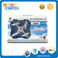 White assorted mini electronic toys quadcopter 2.4G 4CH RC flying rc remote control helicopter with HD camera