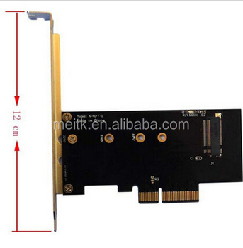PCI-E x4 Adapter Card for M.2 NGFF SSD XP941 SM951 M6E PM951 950 PRO SSD