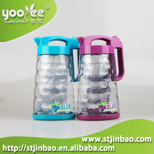 Wholesale Newest Large Clear Plastic Cool Water Pitcher and Cups