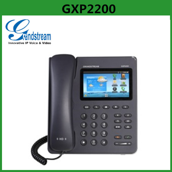 Original Enterprise-grade SIP Door Phone Grandstream GXP2200 Wifi SIP Desk Phone