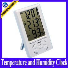 Liweihui temperature and humidity digital lcd display clock electronic thermometer TA308