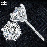 cubic zirconia jewelry factory wholesale crystals from Swarovski cz sterling silver stud earring