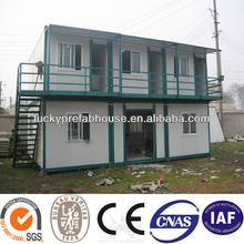 multi container house flat pack container house price floating container house