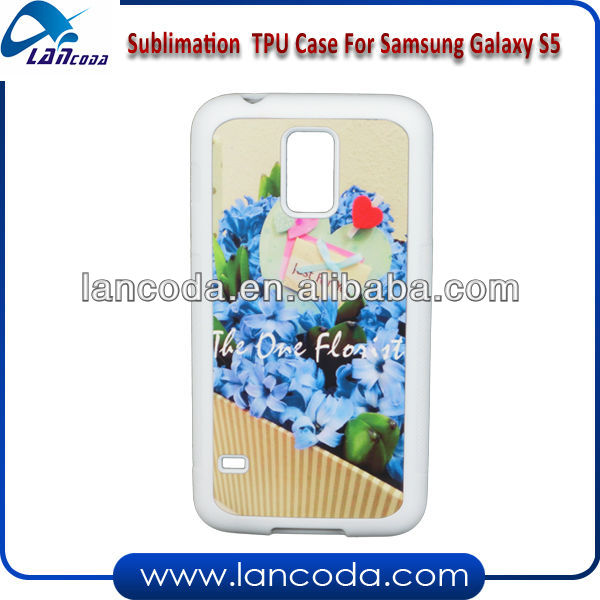 Sublimation Silicone Case for Samsung S5
