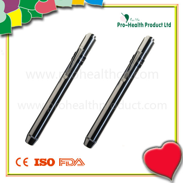Pharmaceutical Promotional Gifts Medical Diagnostic Metal Penlight