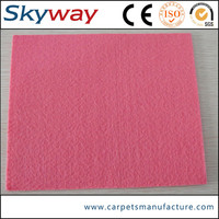 Factory good quality plain style hand woven carpets rugs