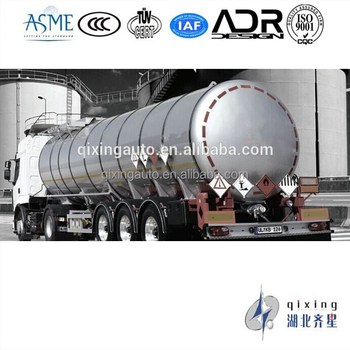 Stainless steelFuel Tanker Semi-trailer