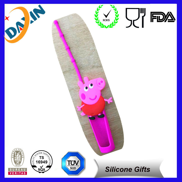 New designed crafts Cartoon Silicone Lip Gloss Holder