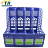Plastic Files Documents Rack 4 Divider