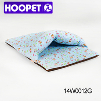 Pet cave bed baby blanket plush dog