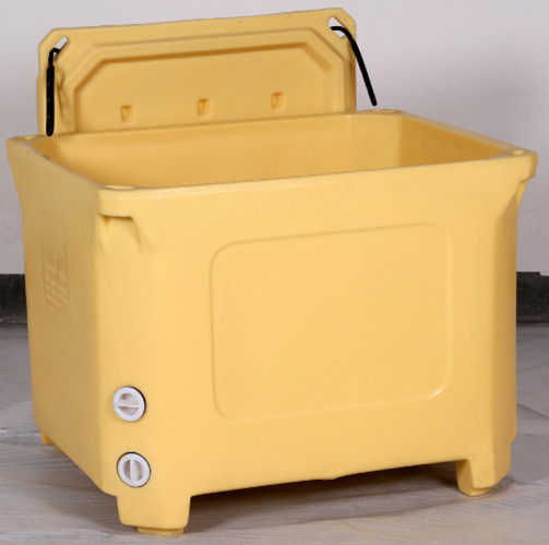 Portable cooler box ice box plastic party cooler box