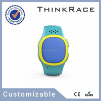 Latest Kids gps watch phone/gps tracker/mobile watch phones with pedometer and Customizable gps tracking system Thinkrace PT520