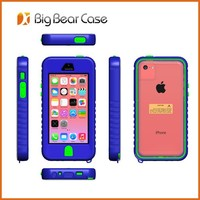 Waterproof Phone Case for iPhone 4 4s 5c