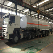 Oil Tanker Semitrailer 35000LWith 3 Axle 5 compartment/fuel transport tanker truck