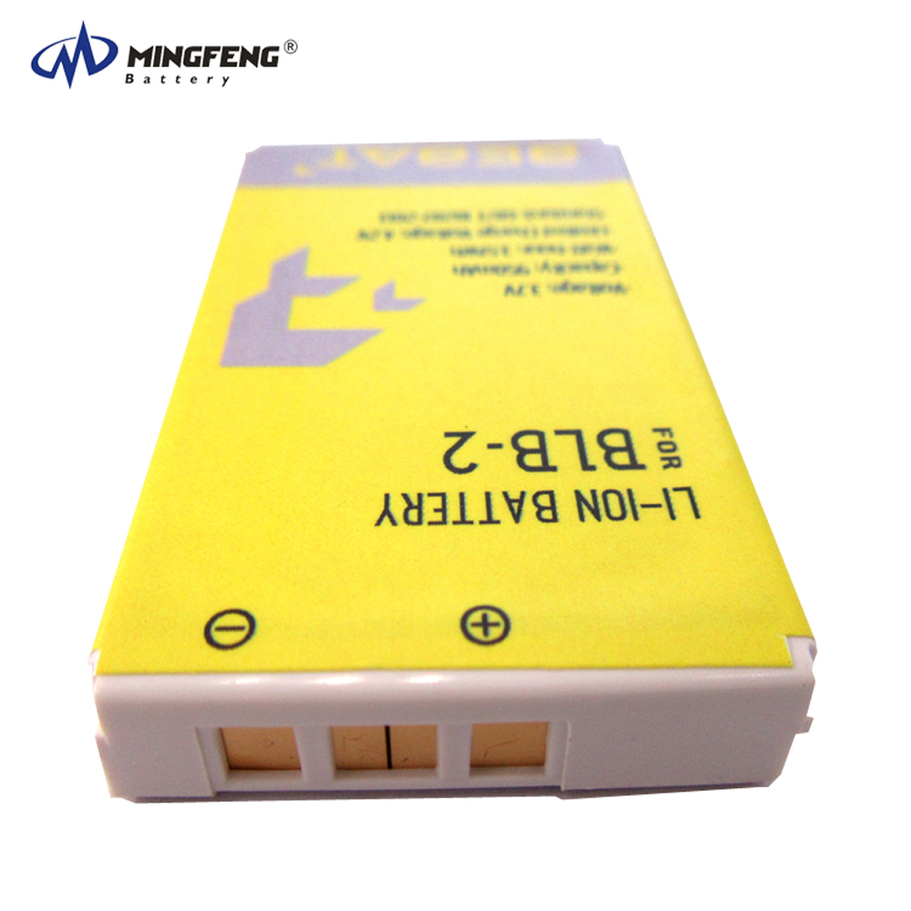 3.7v 950 mah rechargeable li-ion battery BLB-2 for nokia mobile phone 6500/6510/7650/8250