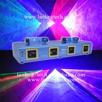 Lanling Laser Four Head 4 color stage lighting effects