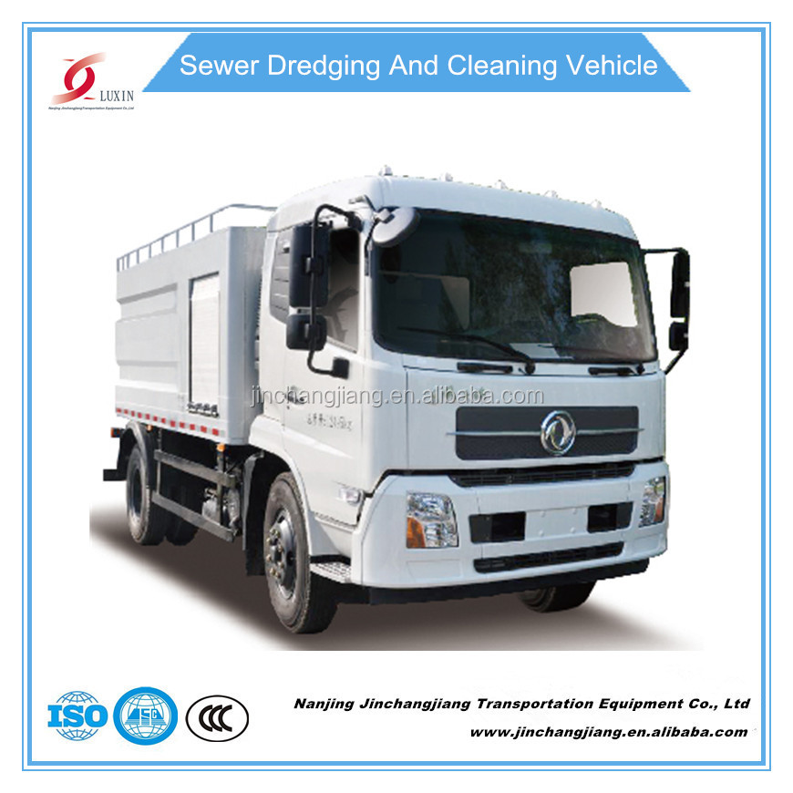 high pressure water pump washing truck sewer jetting cleaning machine for sale factory in China