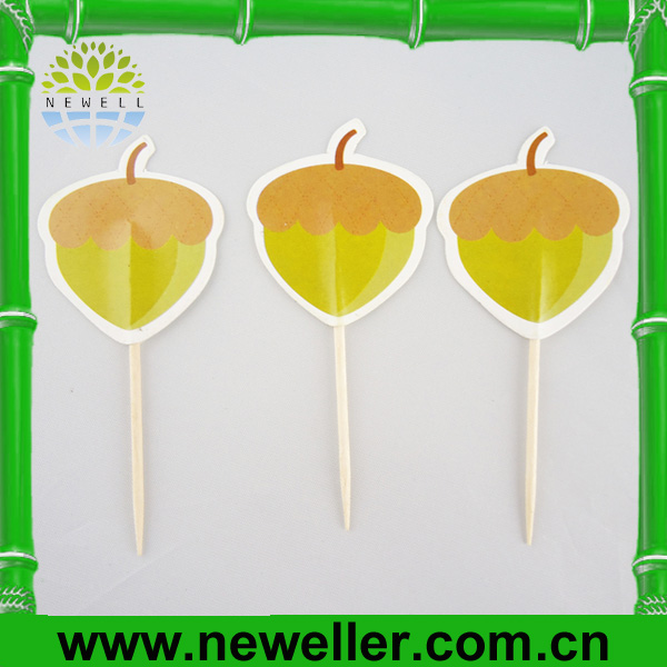 2014Newell bbq bamboo skewers With Logo