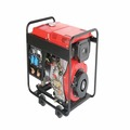 KBD-5000W1 Popular Diesel Generator With soundproof Portable Generator Enclosure