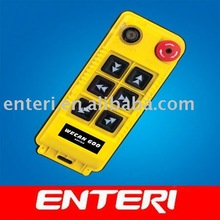 radio remote controller for cranes, hoists, conveyor systems, monorails, hook loaders, concrete mixers, tow trucks, tailgates