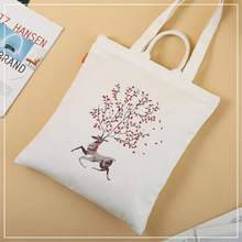 Customized handle types white cotton shopping hand bags oem design cotton tote bag