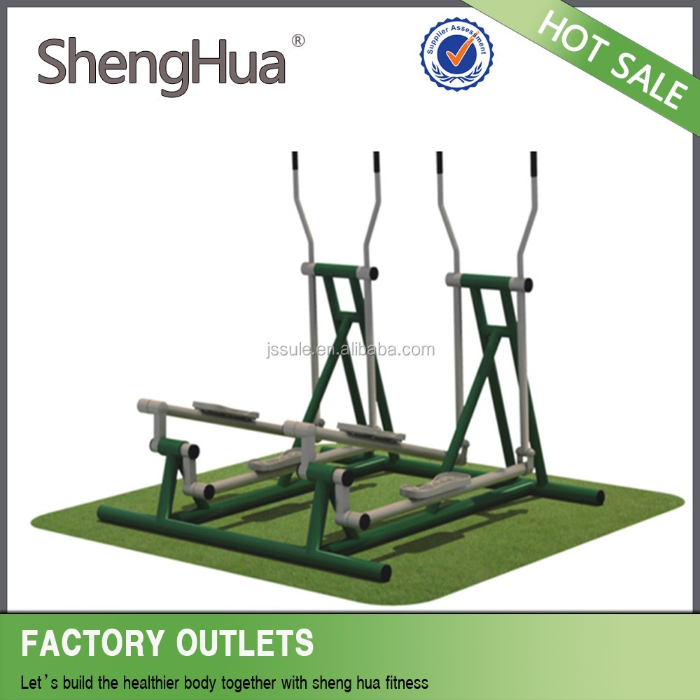Factory production galvanized Steel outdoor fitness equipment for old people for elderly