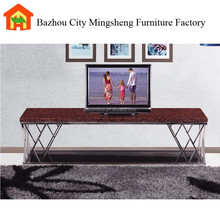 modern luxury marble tv stand for living room use