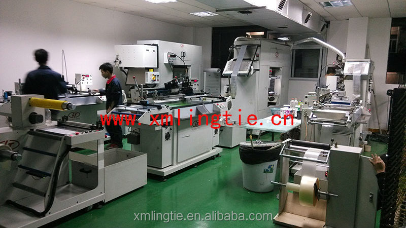 Automatic roll to roll Flexible Printed Circuit EL panel screen printing machine with factory price