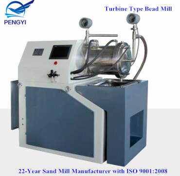 Best-Selling Turbine Nano Bead Mill
