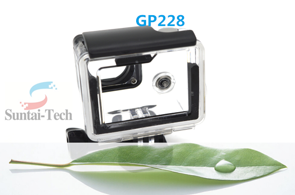 Wholesale GoPro Accessories Underwater non-Waterproof Backdoor for go pro heros 4 Camera Housing GP228