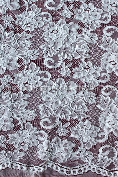2014 new arrival fancy fashion nylon embroidery design lace