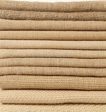 "Natural Burlap Tablecloth Round Tablecloth jute cloth Rectangle 60x90"" jute fabric cloth roll"